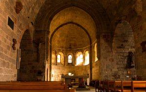 Jakobsweg Saint Alban sur Limagnole Kirche Apsis