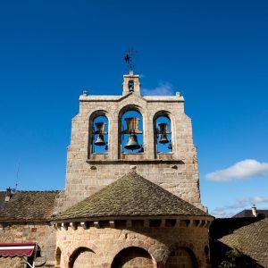 Jakobsweg Saint Alban sur Limagnole Kirche Glockenturm