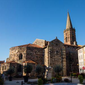 Jakobsweg Saint Paulien Kirche