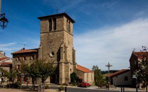 Jakobsweg St. Jean Solemieux Kirche