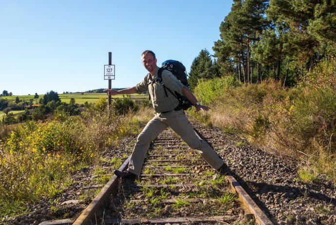 Jakobsweg Frank Stückradt Bahnlinie Orcerolles