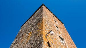 Jakobsweg Aubrac Turm