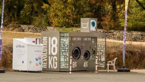 Jakobsweg Limogne Waschmaschine