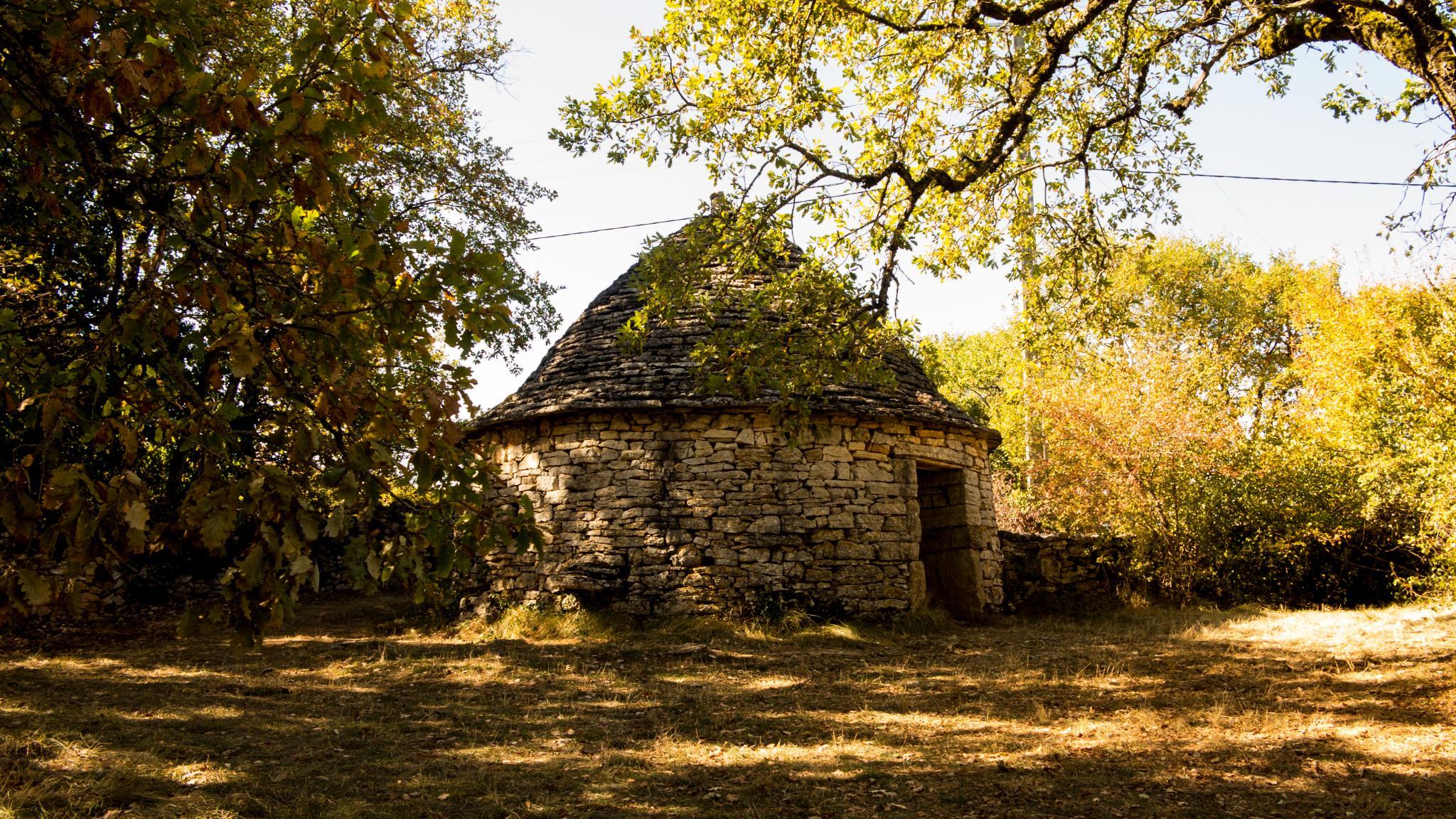 Jakobsweg Schutzhütte in der Nähe von Beduer