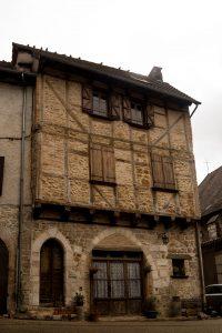Jakobsweg Cajarc Altstadt Haus